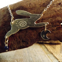 Hare Moon Necklace
