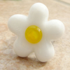 RESERVED Lampwork  Daisy Topper  for Ring or Pendant Base