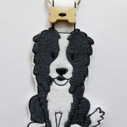 Border Collie Dog Keyring  - Free UK Postage