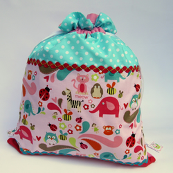 SALE - Girl's Hotchpotch Storage or Laundry Bag