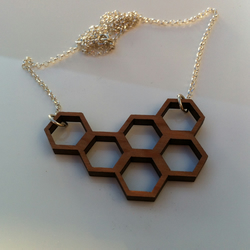 Cherry 'Multi-Hex' Necklace