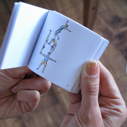 Make your own flip flick book - craft animation toy