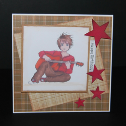 Handmade Teenage Boy Birthday Greeting Card