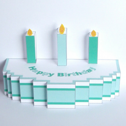 Pop-up Birthday Cake Card (large)