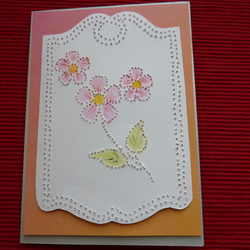 Ornare flowers Card