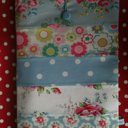 "SALE Handmade 10""-11"" Patchwork Laptop Sleeve in Cath Kidston fabric"