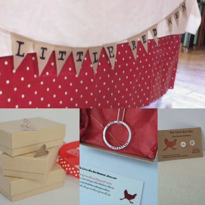 The Little Red Hen      Handmade Jewellery