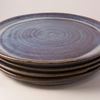 Reserved custom order for Cam. 8 plates, 8 side plates, 8 bowls.