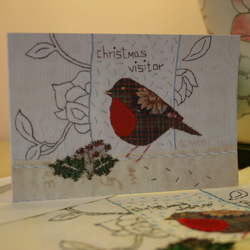 5 x Christmas Visitor cards