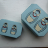 Hand Painted Russian Doll Nested Boxes