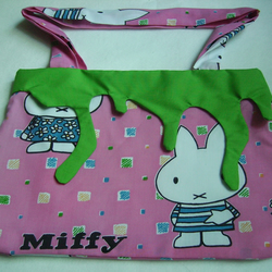 Miffy slime hand bag, super kawaii!