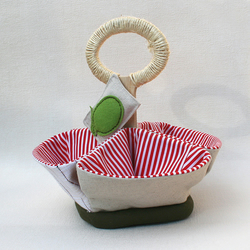 Little Stripy Organizer