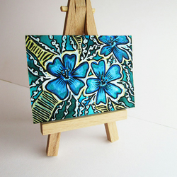 ****ONE DAY SALE****ACEO Flower series