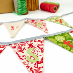 Merry Christmas Bunting Garland