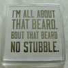 All About That Beard Fridge Magnet