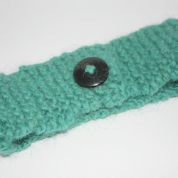 Green Cozy Lugwarmer