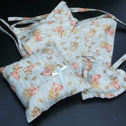 Tooth Fairy pillow with matching bunting and heart