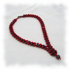 From the Heart, woven necklace