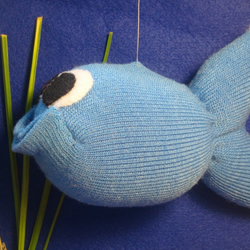 Big Blue Sock Fish
