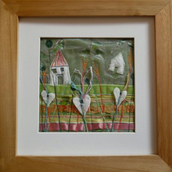 Framed Embroidery: Summer Meadow