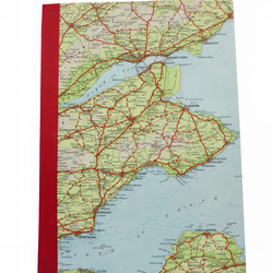 Map notebook personalised area - Rhodes