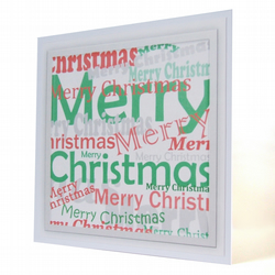 3 card pack Christmas cards - Silver City