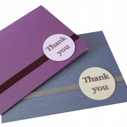 SALE Thank you cards pack of two - Thimphu