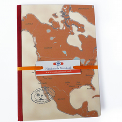 Personalised map travel journal - Damascus