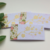 GIFT TAGS, . ( set of 3 )  ' Cherry Blossom 2 ' . Flowers. Yuzen papers