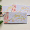 GIFT TAGS, . ( set of 3 )  ' Cherry Blossom  ' . Pink . Flowers. Yuzen papers
