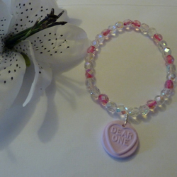 Love Heart Sweetie Bracelet 'Dear One'