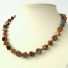 Handmade tigers' eye necklace