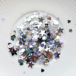Star Shine Sparkly Shaker Selection - Seed Beads, Sequins and Confetti