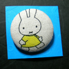 Miffy Button Brooch