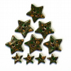 Camouflage Star Buttons FOR COMIC RELIEF