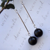 Black Drop Earrings FOR COMIC RELIEF