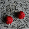 Red Balloon Earrings FOR COMIC RELIEF
