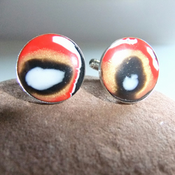 'Fire', Black Hole, mystic Cufflinks