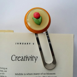 Tilly - Button Themed Bookmark