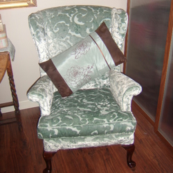 PARKER KNOLL ARMCHAIR...UPCYCLED