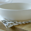 Made to order - Set of four large stoneware pasta bowls choose your colour
