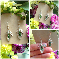 Mini Peas in a pod Matching Earrings