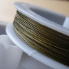 5m Metallic Olive Tiger Tail Nylon Coated Jewellery Wire