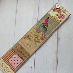 Linen Bookmark Giftboxed
