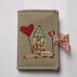 Irish Linen Needle Book
