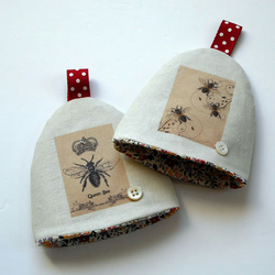 Pair of Egg Cosies *Reduced* Was £12.00 Now £7.00