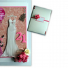 Stunning Personalised Female 3D Birthday Card - Very Girly