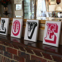 L.O.V.E Canvas Prints