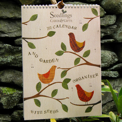 2012 Wall Calendar With Seeds