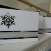 Pack of 4 Snowflake Christmas Cards